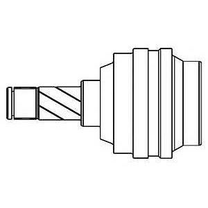 Шарнирный комплект, приводной вал 644004 gsp - OPEL CORSA A Наклонная задняя часть (93_, 94_, 98_, 99_) Наклонная задняя часть 1.6 GSI