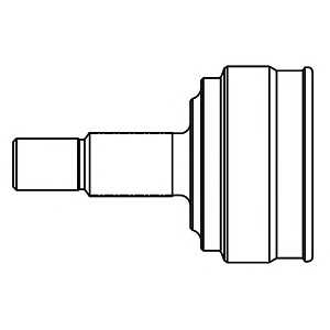 Шарнирный комплект, приводной вал 818013 gsp - FORD FOCUS (DAW, DBW) Наклонная задняя часть 1.4 16V