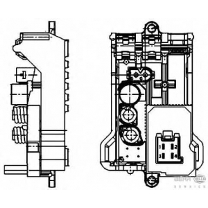 HELLA 5HL351321141 Блок управления, отопление / вентиляция