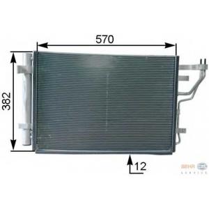 HELLA 8FC 351 303-211 Радиатор кондиционера