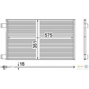 HELLA 8FC351309-161 AC condenser
