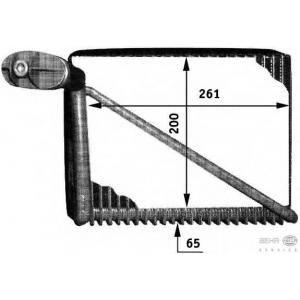 HELLA 8FV 351 211-061 Испаритель, кондиционер