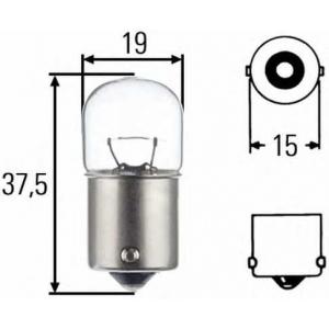 HELLA 8GA 002 071-131 Лампа накаливания, фонарь указателя поворота; Лампа накаливания, фонарь сигнала торможения; Лампа накаливания, фонарь освещения номерного знака; Лампа накаливания, фара заднего хода; Лампа накаливания, задний гарабитный огонь; Лампа накаливания, oсвещение