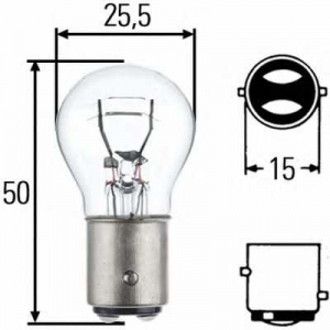 BEHR-HELLA SERVICE 8GD 002 078-241 Лампа  P21/5W  24V