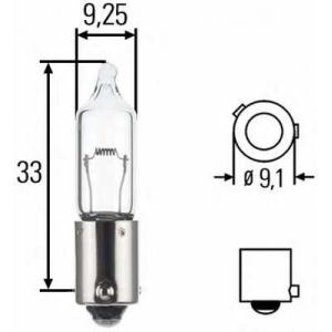 HELLA 8GH008417001 Лампа накаливания, фонарь указателя поворота