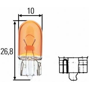 HELLA 8GP003594541 Лампа накаливания, Лампа накаливания, стояночный / габаритный огонь, Лампа накаливания, стояночный / габаритный огонь
