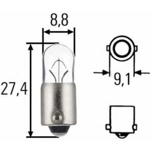 HELLA 8GP007676121 Лампа накаливания, внутренее освещение