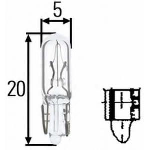 HELLA 8GP938026001 Лампа накаливания, дополнительный фонарь сигнала торможения