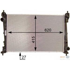 HELLA 8MK376754-461 Radiator