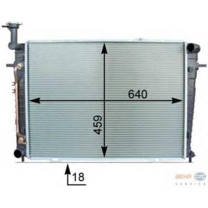 HELLA 8MK376763-671 Radiator