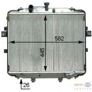 HELLA 8MK376763-741 Radiator