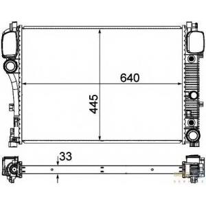 HELLA 8MK376764-791 Radiator