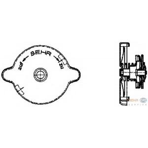 HELLA 8MY 376 742-021 Крышка, резервуар охлаждающей жидкости