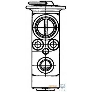 HELLA 8UW 351 029-011 Расширительный клапан, кондиционер