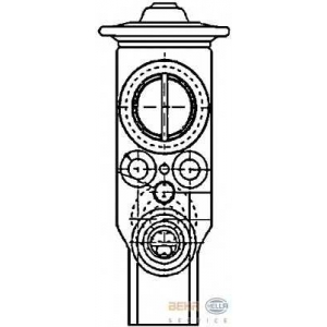 HELLA 8UW 351 234-171 Расширительный клапан, кондиционер
