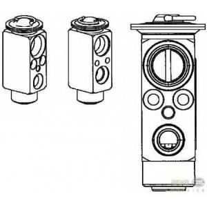 HELLA 8UW 351 234-391 Расширительный клапан, кондиционер