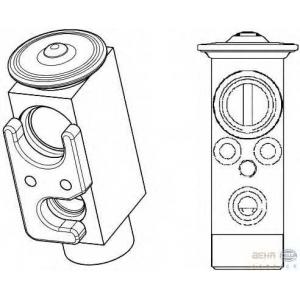 HELLA 8UW 351 234-501 Расширительный клапан, кондиционер