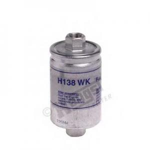 HENGST FILTER H138WK Фильтр топливный ВАЗ 2107, 08, 09, 99, 11, 12, 21 (инж.) (пр-во HENGST)