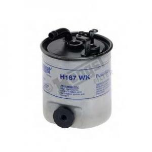 HENGST FILTER H167WK Фильтр топл. MB SPRINTER, VITO (пр-во Hengst)