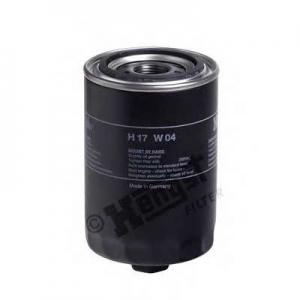 HENGST FILTER H17W04 Фильтр масляный IVECO (TRUCK) (пр-во Hengst)