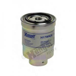 HENGST FILTER H17WK08 Фильтр топливный NISSAN (пр-во Hengst)