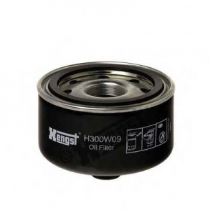 HENGST FILTER H300W09 Фильтр масляный VW LT 2,8 TDI (пр-во Hengst)