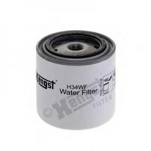 HENGST FILTER H34WF Фильтр охлажд. жидкости SCANIA 2,3,4 SERIES (TRUCK) (пр-во Hengst)