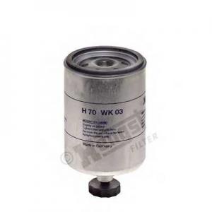 HENGST FILTER H70WK03 Фильтр топл. (TRUCK) (пр-во Hengst)