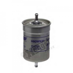 HENGST FILTER H80WK01 Фильтр топл. A4, A6, SUPERB (пр-во Hengst)