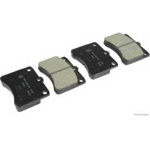 HERTH+BUSS JAKOPARTS J3606005 Комплект тормозных колодок, дисковый тормоз Дайхатсу