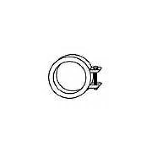 HJS 83111961 Exhaust bracket