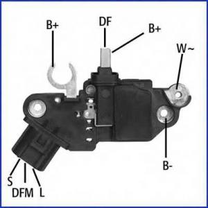 HUCO 130593 Реле - регулятор генератора Ford Transit