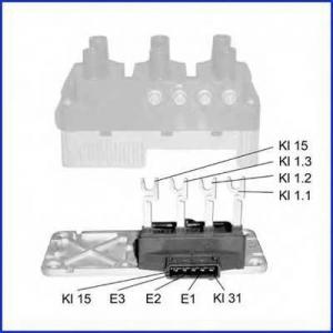 HUCO 138428 Коммутатор, система зажигания