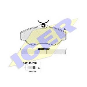 �������� ��������� �������, �������� ������ 141145700 icer - LAND ROVER RANGE ROVER II (LP) �������� �������� 2.5 D