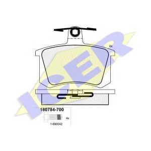 �������� ��������� �������, �������� ������ 180784700 icer - AUDI 80 (81, 85, B2) ����� 1.8 GTE quattro (85Q)