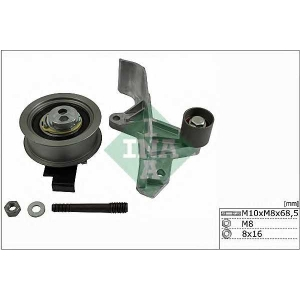 Комплект роликов, зубчатый ремень 530054609 ina - AUDI A4 (8D2, B5) седан 1.8 T