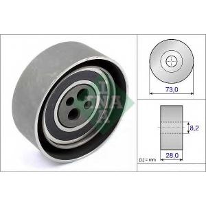 Натяжной ролик, ремень ГРМ 531010320 ina - AUDI COUPE (89, 8B) купе 2.6