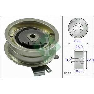 Натяжной ролик, ремень ГРМ 531020320 luk - VW GOLF VI (5K1) Наклонная задняя часть 1.6 MultiFuel