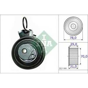 Натяжной ролик, ремень ГРМ 531053210 luk - HYUNDAI ELANTRA седан (XD) седан 1.8