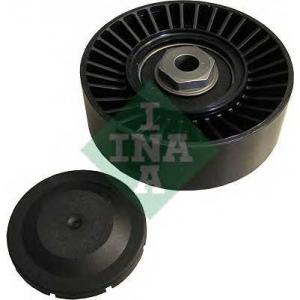 Натяжной ролик, поликлиновой  ремень 531072910 ina - AUDI 80 (8C, B4) седан 1.9 TD
