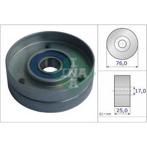Натяжной ролик, поликлиновой  ремень 531075130 luk - VOLVO 960 II (964) седан 2.9