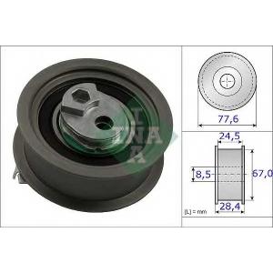 Натяжной ролик, ремень ГРМ 531085110 luk - VW GOLF VI (5K1) Наклонная задняя часть 2.0 R 4motion