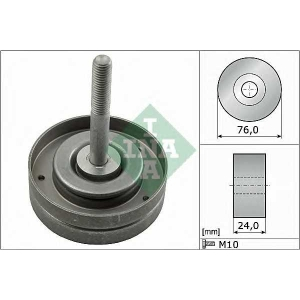 Паразитный / ведущий ролик, поликлиновой ремень 532050010 luk - SEAT IBIZA V (6J5) Наклонная задняя часть 1.2
