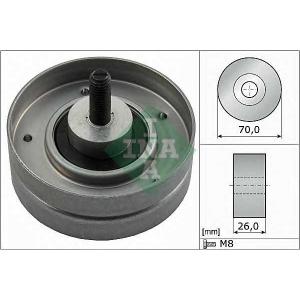 INA 532052410 Паразитный / ведущий ролик, поликлиновой ремень