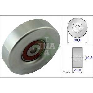 INA 532 0618 10 Паразитный / ведущий ролик, поликлиновой ремень
