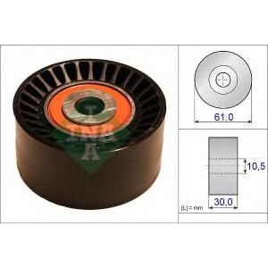 Паразитный / Ведущий ролик, зубчатый ремень 532062410 luk - FORD C-MAX II вэн 1.6 TDCi