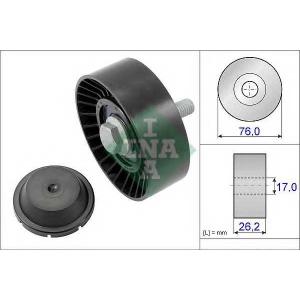Паразитный / ведущий ролик, поликлиновой ремень 532063210 ina - VW TOURAN (1T3) вэн 1.2 TSI