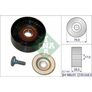 Паразитный / ведущий ролик, поликлиновой ремень 532064810 luk - MERCEDES-BENZ E-CLASS (W212) седан E 200 NGT (212.041)