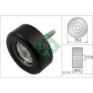 INA 532 0651 10 Паразитный / ведущий ролик, поликлиновой ремень