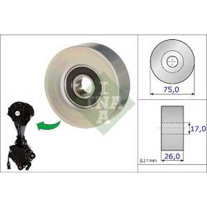 Паразитный / ведущий ролик, поликлиновой ремень 532067610 luk - CITRO?N C4 (B7) Наклонная задняя часть 1.6 VTi 120